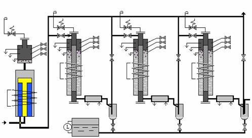 Схема химико-технологической